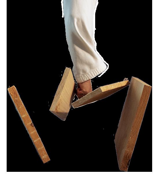 Taekwondo Bruchstest Brett